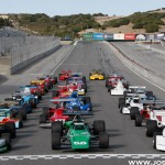 The Formula 5000 Group on-track at Mazda Raceway Laguna Seca